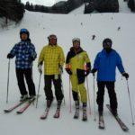 弊社から四都市冬季大会のスキー代表選手が3名選ばれる。
